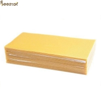Quality Customized Cell Size Pure Natural Beeswax Grade D Confectionary Industries for sale