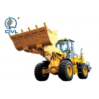 Quality 3m³ Compact Wheel Loader ZL50G , Yellow Small Wheel Loader 18T Rock Bucket Seiers for sale