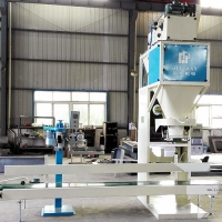 Quality Touch Screen Control 3KW Cement Bag Packing Machine for sale