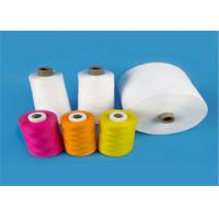 Quality Raw White 40s/2 100% Virgin Polyester Spun Yarn for Sewing Thread High Tenacity for sale