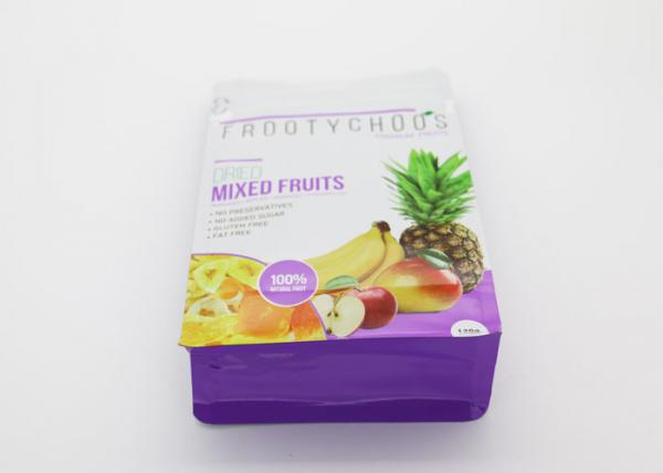 Buy Moisture Proof Plastic Zipper Pouch , Plastic Stand Up Pouches With Zipper at wholesale prices