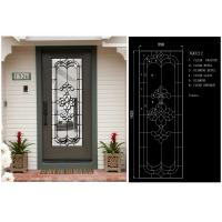 Buy cheap visual texture Bathroom Window Glass Custom Glass Window Panels obscurity from wholesalers
