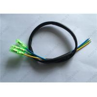 Quality Custom Wire Harness Fireproof UL1332 16 AWG Teflon Wire With PVC Tube Crimped Bullet Terminal To Open for sale