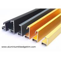 Quality Anodized Brushed Metal Picture Frames Wholesale / Photo Or Snap Frame Mouldings for sale