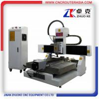 China China small metal engraving machine with air cooling spindle,TBI ballscrew ZK-6060 on sale