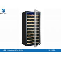 Quality Customized Electronic Compressor Wine Cooler SF-780SS 5 - 22 Degree Temp Range for sale