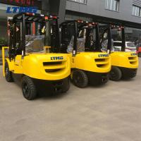 Buy cheap 2 / 3stage Mast Counterbalance Forklift Truck 3 Ton With Rotating Attachments from wholesalers