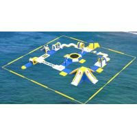 Buy cheap Adult Inflatable Water Play Equipment For Sea / Inflatable Water Park Design from wholesalers