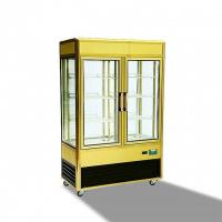Buy cheap 828L Aluminium Frame Refrigerated Cake Display Cabinets With Folding Door from wholesalers