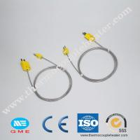 Buy cheap K type with shielding thermocouple wire compensation cable for industrial use from wholesalers