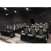 Quality Custom Capacity 5D Cinema Theater / Luxury Theater Seating Vivid Immersive Feeling for sale