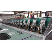 Buy cheap 24 Heads Flat Embroidery Machine With Automatic Thread Trimmer from wholesalers