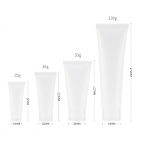 Buy cheap Transparen Travel size containers 2 oz Plastic Small Squeeze Bottles Soft Tubes from wholesalers