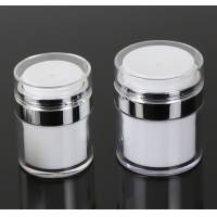 Buy cheap Empty Airless Refillable Cosmetic Cream Jars Shatterproof from wholesalers