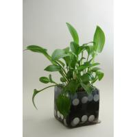 Buy cheap distressed rectangle metal flower planter from wholesalers