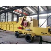China wood chipping machine/wood chipper shredder for sale, China made diesel mobile chipper on sale