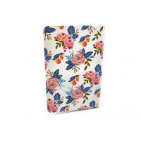 Buy cheap Glossy Soft Cover Notebook / Planner Notebook With Beautiful Flowery Patterns from wholesalers