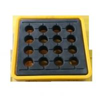 Quality Yellow Oil Drum Spill Containment For Oil / Chemical / Energy / Logistic Industrial for sale