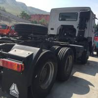 Quality LHD New HOWO7 6*4 10tires 336HP Heavy Duty Tractor Truck With German Steering Gear Box with one Sleeper for sale