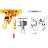 Quality Super Low Electric Chain Hoist for sale