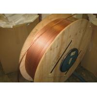 Quality Custom Length Copper Coil Tubing / Pancake Coil Copper Pipe 0.1 - 200mm Wall Thickness for sale