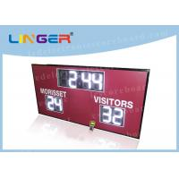 Buy cheap 12inch 300mm Digits in White Color Led Electronic Scoreboard for American from wholesalers