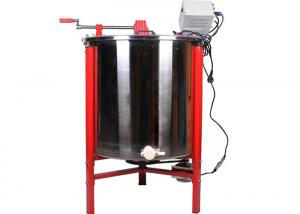 Quality 6 Frames Manual Beekeepers Honey Extraction Equipment for sale