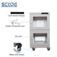 Quality Ash White Color Dry Humidity Cabinet Ultra Low Humidity Full Modular Design for sale