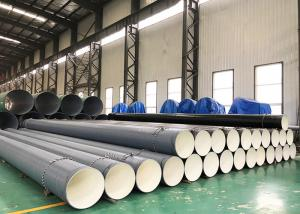 Quality A53 3PE Coated And Internal Epoxy FBE External Polyethylene Coated Pipe 3 Layer for sale
