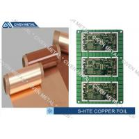 Buy cheap Single Shiny Heavy ED PCB Copper Foil 1/4OZ ~ 3OZ 1295mm×1295mm from wholesalers