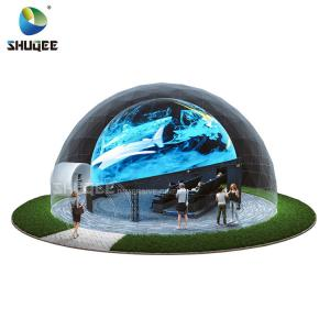 Quality Curved Screen 360 Dome Movie Theater With 4DM Electric Motion Seats For Museum,Theme Park for sale