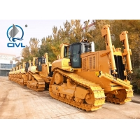 Quality Track Bulldozer SD9 With Ripper  430HP Elevated Sprocket Hydraulic Bulldozer SD9 New Bulldozer Yellow Color for sale