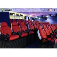 Quality Dynamic Electric 9D Movie Theater For Commercial Shopping Mall / 9D Action Cinemas for sale