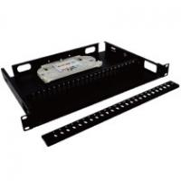 Buy cheap 8 Port Fiber Optic Patch Panel Rack Mounted Convenient To Install / Dismantle from wholesalers