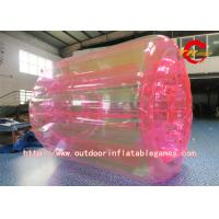 China Colorful Inflatable Zorb Ball , Transparent Inflatable Water Roller Ball For Kids on sale