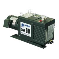 Buy cheap Small BSV60 60m3/H 2 Stage Oil Sealed Rotary Vacuum Pump Oil Anti Return System from wholesalers