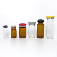 Quality Nonsterile Pharmaceutical 20CC ND11 Amber Glass Bottle for sale