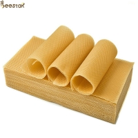 Quality C 100 natural beeswax Honeycomb Frame Beeswax Foundation Sheet for sale