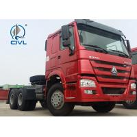 Quality SINOTRUK STEYR 6X4 Tractor Truck Prime Mover Truck Towing Semi Trailer  371hp Euro II New tractor head for sale