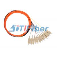 Quality Bundle Fiber Optic Pigtail for CATV Network with Multimode SC Connectors for sale