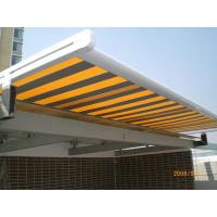 Quality waterproof balcony remote motor control aluminium retractable awning for sale
