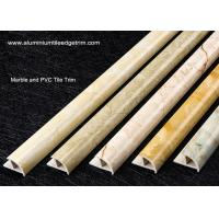 Buy Cappuccino / Carrara / White Marble Effect Tile Trim With Thermal Transfer at wholesale prices