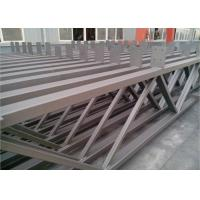 Quality Q235b Light Square Tubing Trusses , Grey Metal Structural Beams For Surport for sale