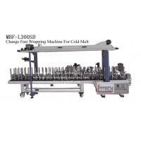 Quality MBF-L300SD fast change profile wrapping machine (cold melt) for sale