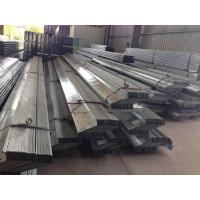 Quality 1.912 To 43.588kg / M Galvanised Steel Purlins Lipped Channel Steel Material for sale