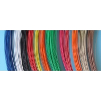 Quality Color Coated 0.05mm Hook And Eye Wire 650Nmm2 Red Blue for sale