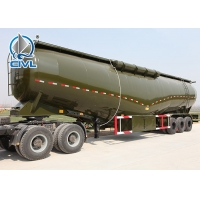 Quality 26CBM 8 x 4 Bulk Cement Truck With 371HP Euro II Engine Germany ZF Hydraulic Steering for sale