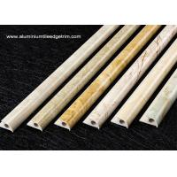 Quality Composite Marble Round Edge Tile Trim For Wall Or External Corner for sale