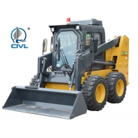 Quality Xcmg Xc740k Small Skid Steer Loader  With Attachments for sale