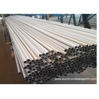 Quality Weather Resistance Round Aluminum Extrusion Profiles 6061 6063 7075 Anodized Silver for sale